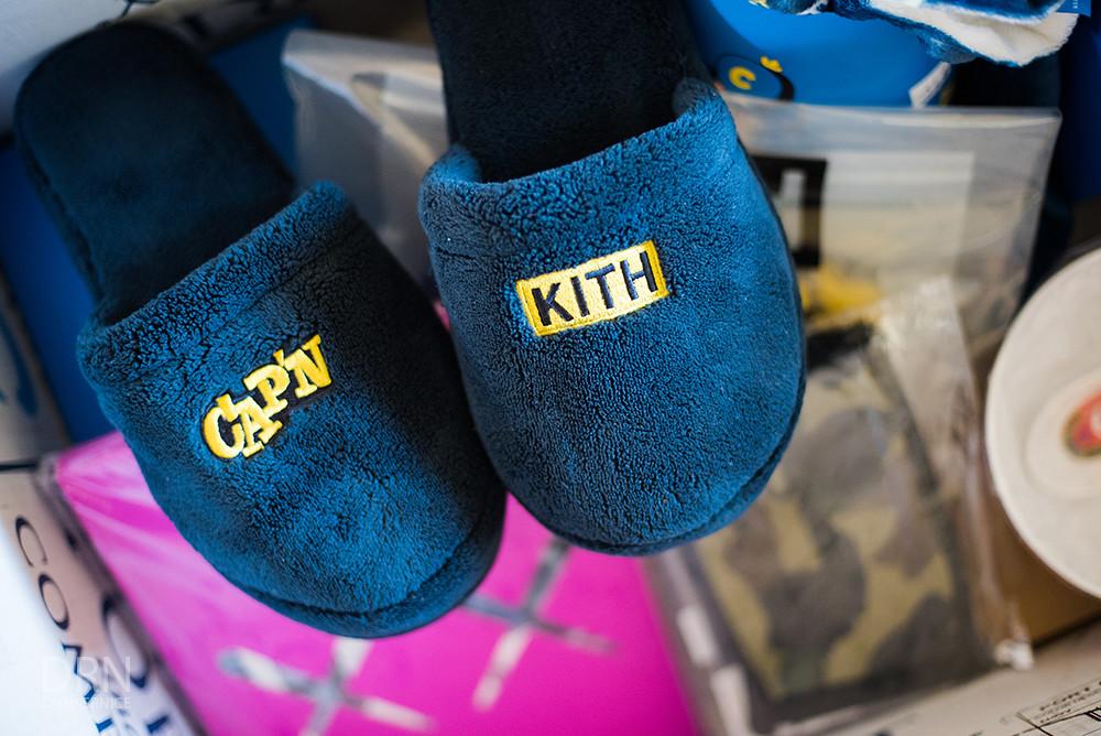 Kith, Bape, & Supreme.