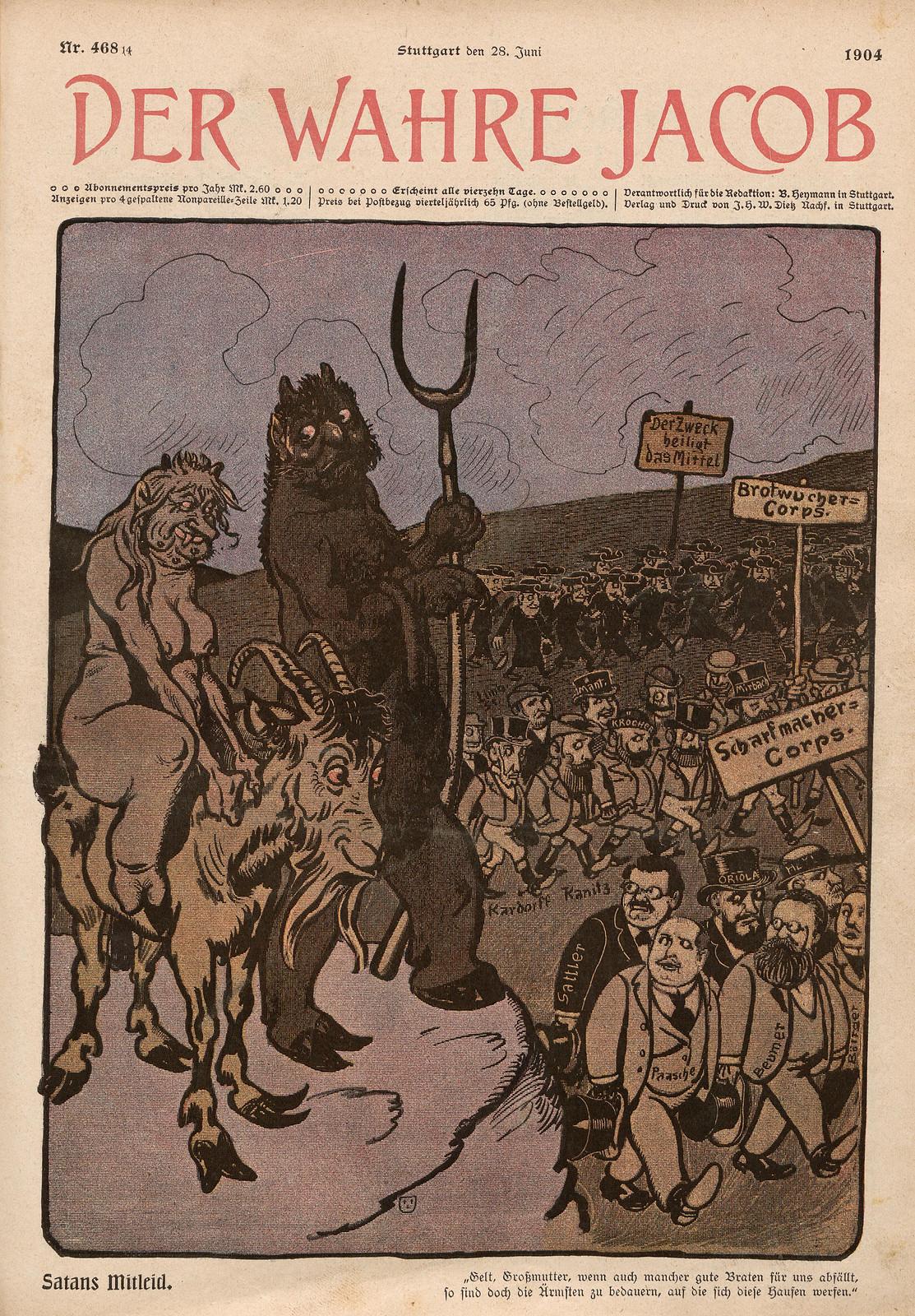 Otto Emil Lau - Satan's Compassion, 1904