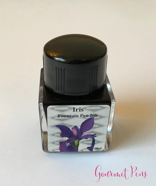 Ink Shot Review Diamine Flowers Iris @AppelboomLaren 8