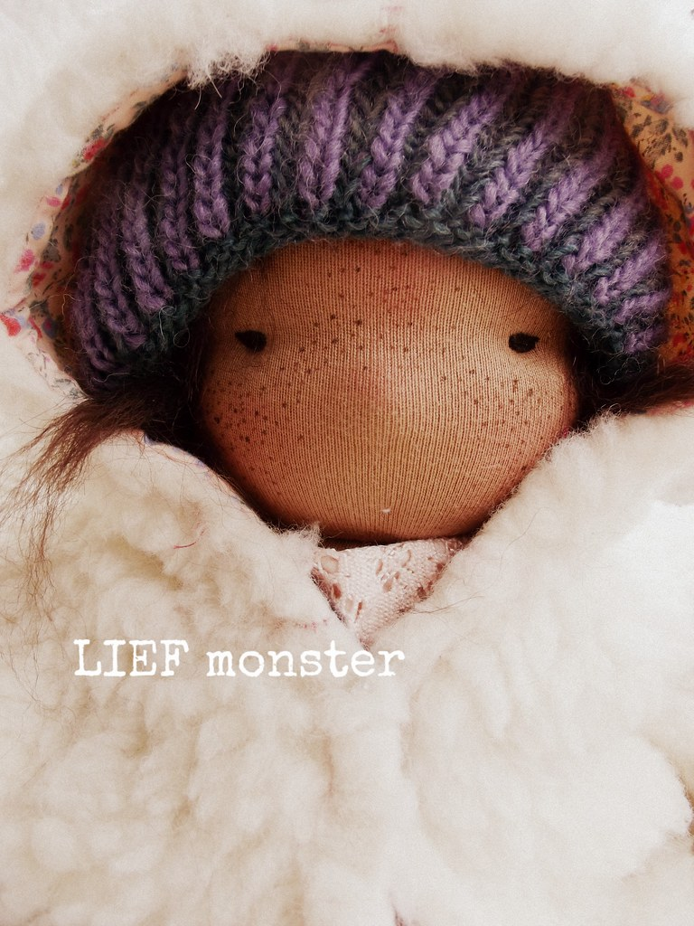 Billie, an 16 inch LIEF monster doll