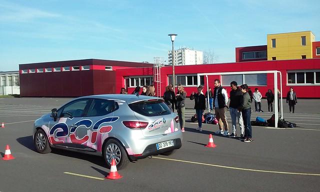 Journée d'action sécurité routière au collège Maurice Utrillo