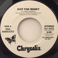 PAUL HARDCASTLE:JUST FOR MONEY(LABEL SIDE-B)