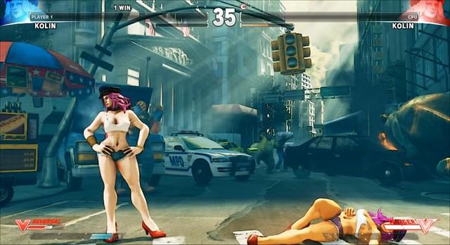 Street Fighter V Kolin v Zehir Mod