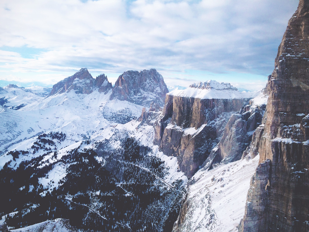 7x fijn aan wintersport in Val di Fassa (Italie)