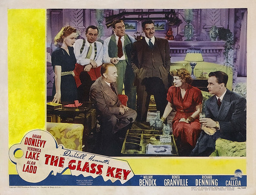 The Glass Key - lobbycard 1