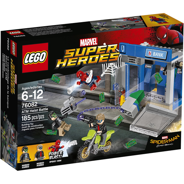 LEGO Spiderman Homecoming 76082 ATM Heist Battle