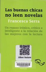 Francesca Serra, Las buenas chicas no leen novelas