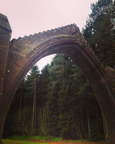 Edzell Arch . #edzell #angus #scotland #scottishscenery