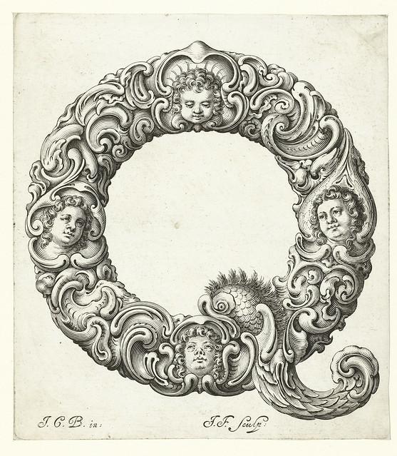 017- Letra Q-Libellus Novus Elementorum Latinorum -J. C. Bierpfaff-  Rijksmuseum