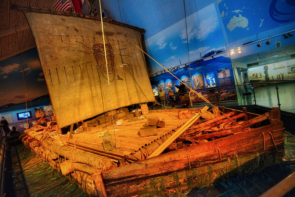 Kon-Tiki at the Kon-Tiki Museet