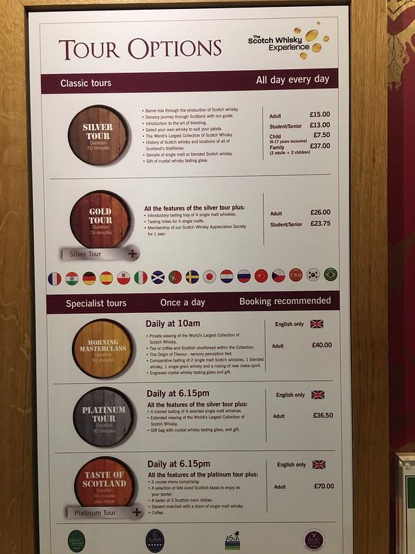 edinburgh 056 Scotch Whisky tour options