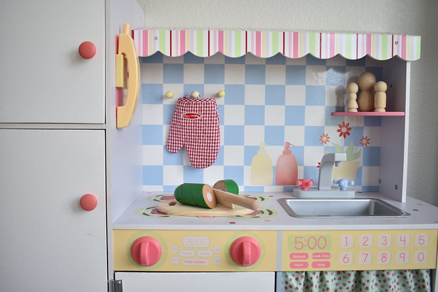 Play Kitchen Closeup