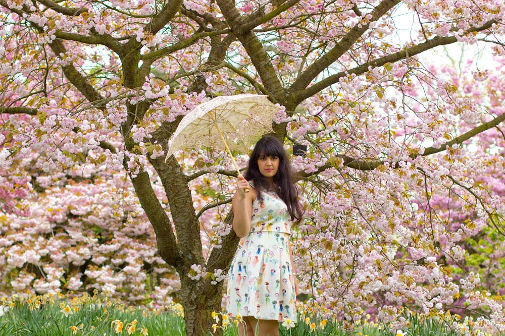 kew, kew gardens, hanami, sakura, hanami london, london cherry blossom, london blossom, london sakura, sakura girl, kew gardens bloom, spring bloom, blossom, blossom fashion, blossom london