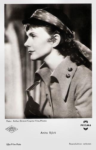 Anita Björk in Die Hexe (1954)