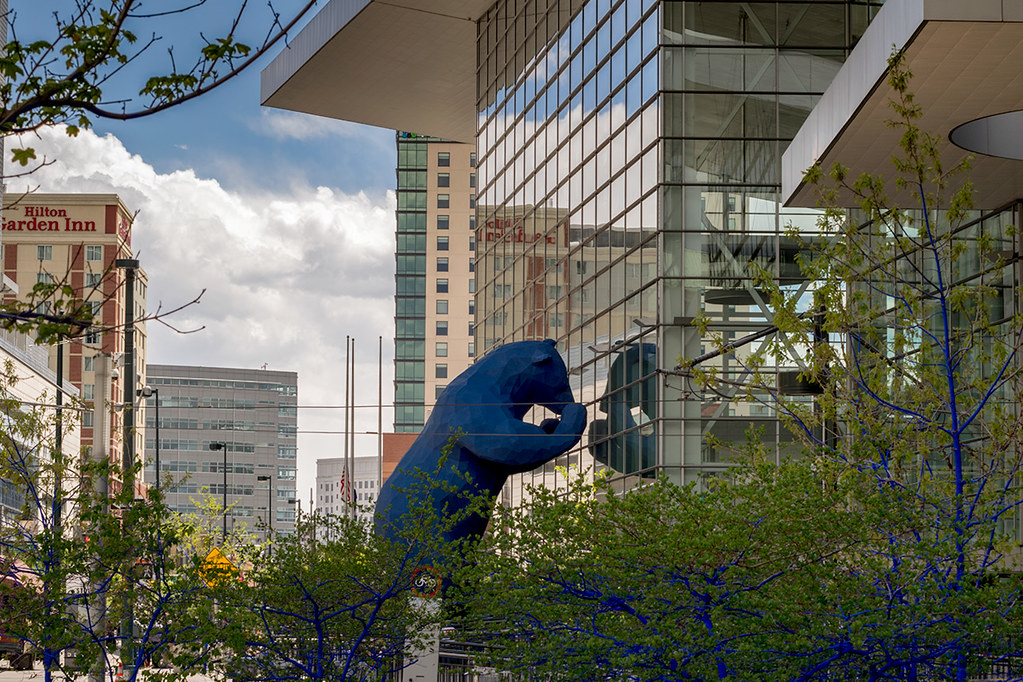 The Famous Blue Bear - Denver Convention Center