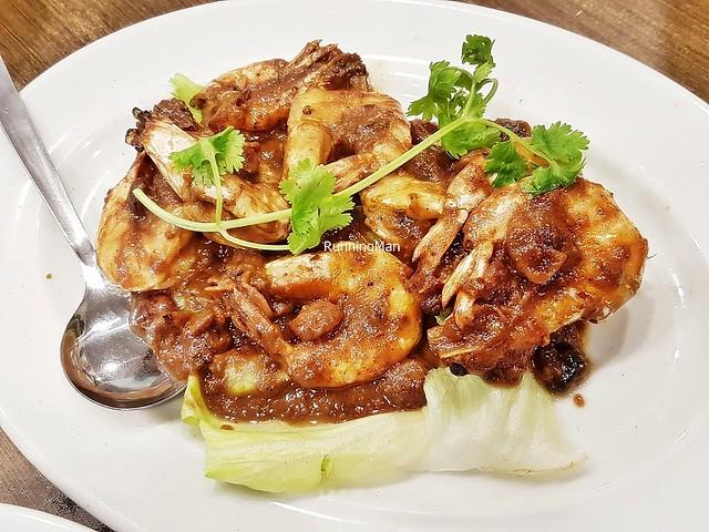 Udang Goreng Assam / Fried Tamarind Prawns