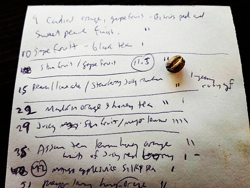 John's tasting notes on his  51-minute journey with the Guatemala Acatenango Gesha  (now available On Siphon!)