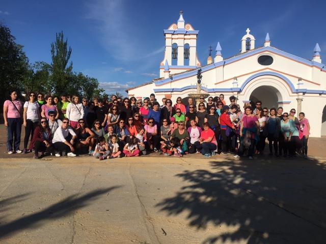 """Cerca de 70 senderistas participaron en la XVII Marcha a Pie """"Subida a la Ermita"""""""