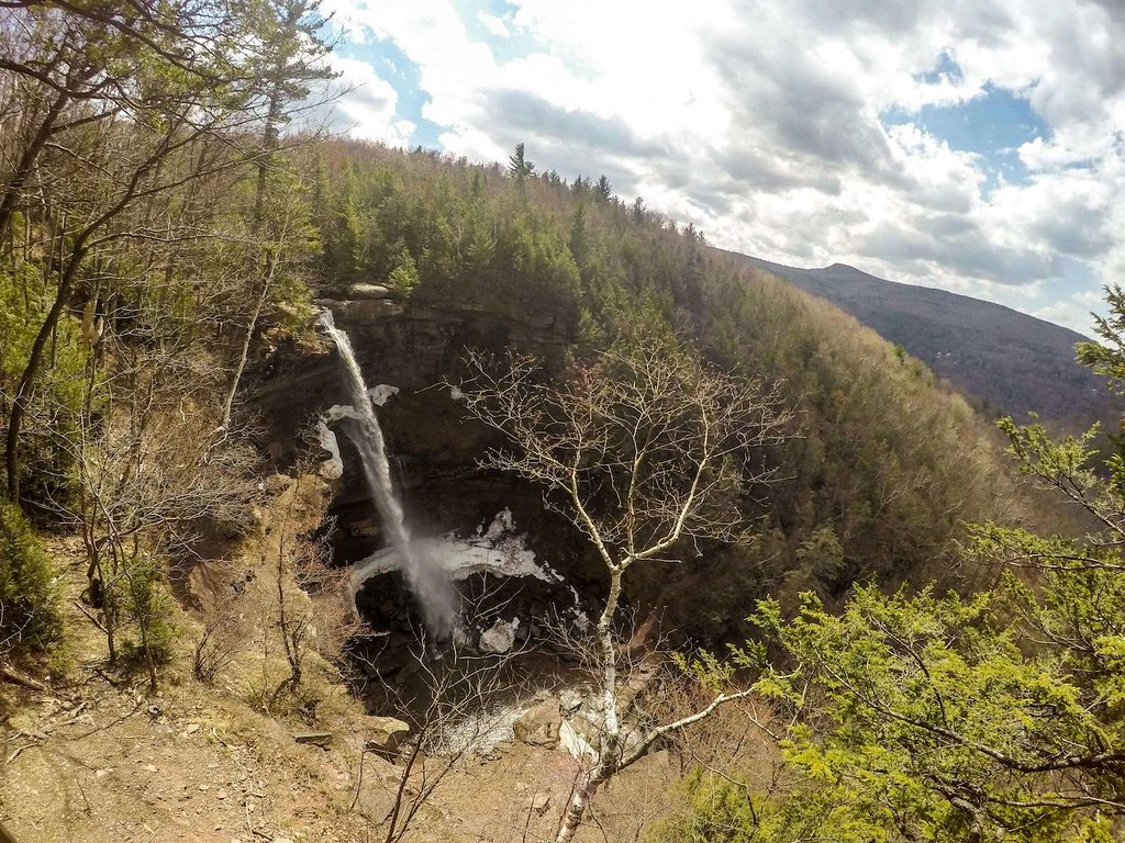 Kaaterskill Falls from viewing platform
