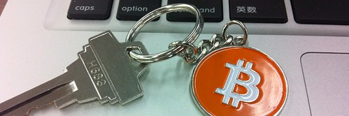 Bitcoin keychain/keyring and key | by Whitez