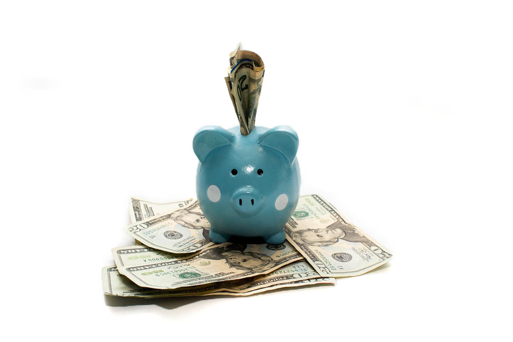 Saving in a piggy bank - saving in a piggy bank. When ...