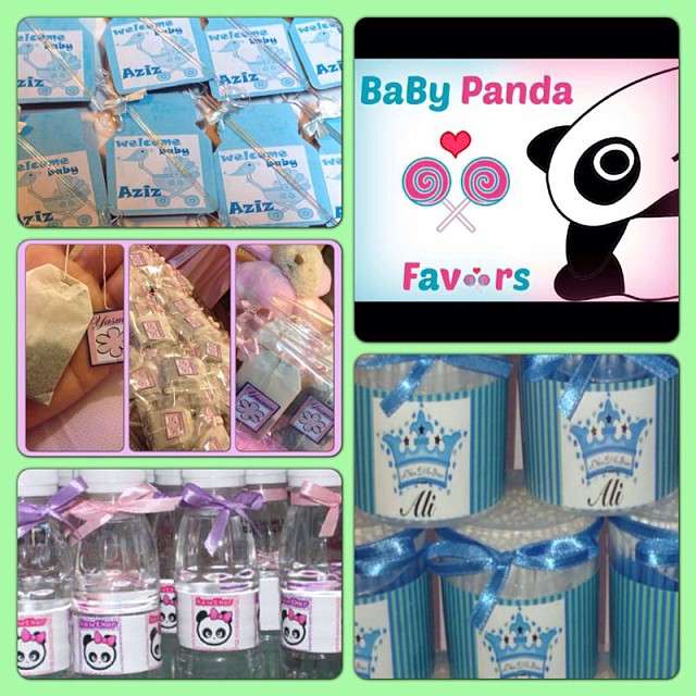 Giveaway Baby Favors Bh Bahrain Babyshower Shower Flickr