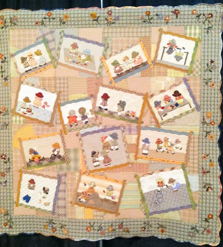Japanese quilts at houston festival 2013 this sweet - Reiko kato patchwork ...