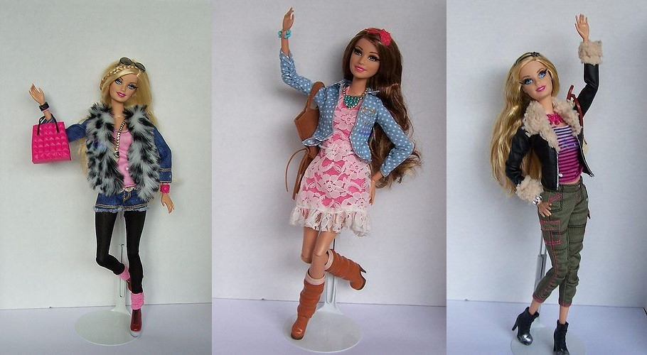 Barbie Glamour Luxury Fashion 2014 They Are Really