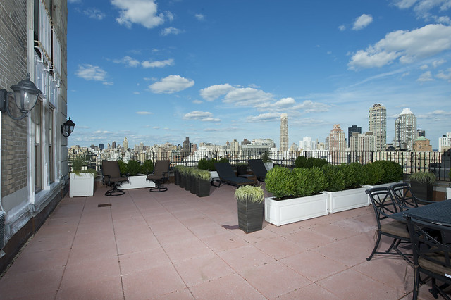 The charles pierre suite terrace at the pierre a taj for Pierre hotel new york