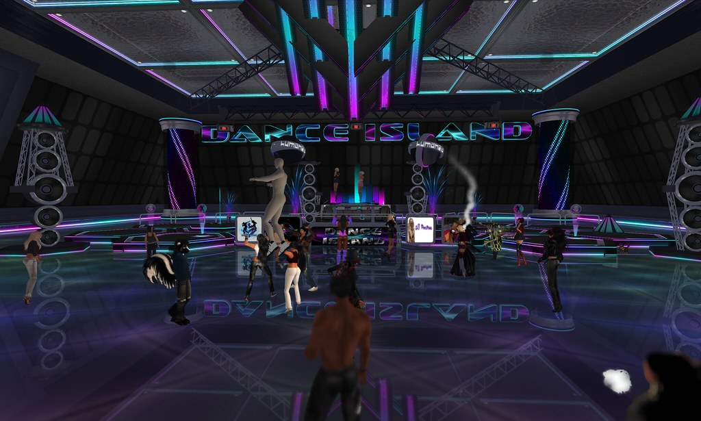 72 live dj 39 s dance trance house club music dance island for House music dance