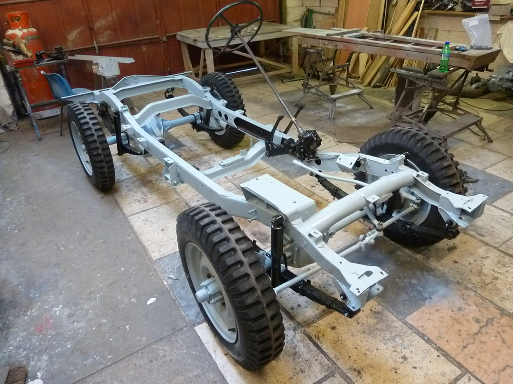 Extrêmement Willys Jeep - Rolling Chassis | Ready for the engine and gea… | Flickr ZF08