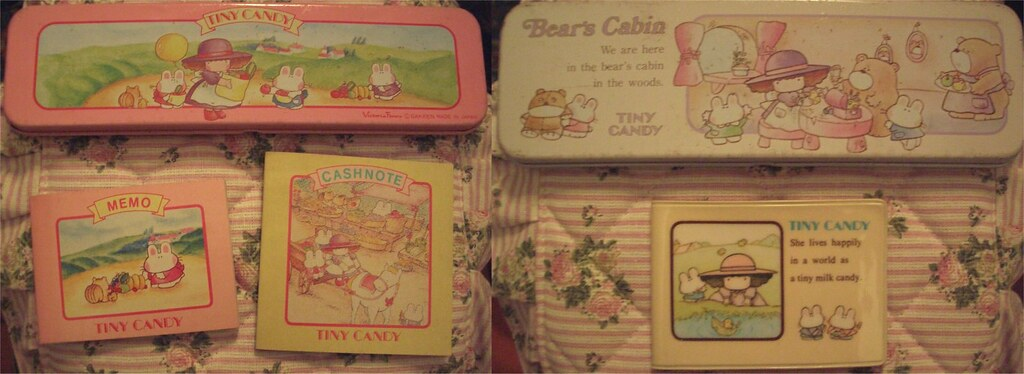 tiny candy tin pencil cases mini notebooks and address bo flickr