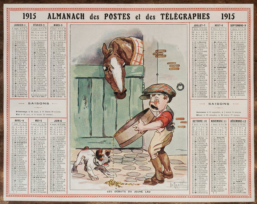 almanach des postes et des t u00e9l u00e9graphes  registre 1914
