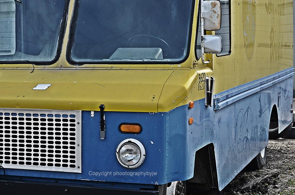 Photographybyjw Vintage Bread Truck Rust Bomb