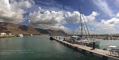 La Caleta del Sebo y El Río (La Graciosa, Islas Canarias)