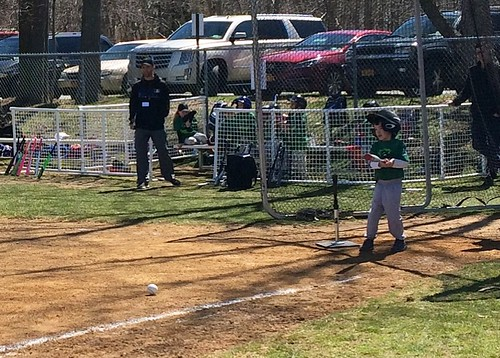First T-Ball Game 2017