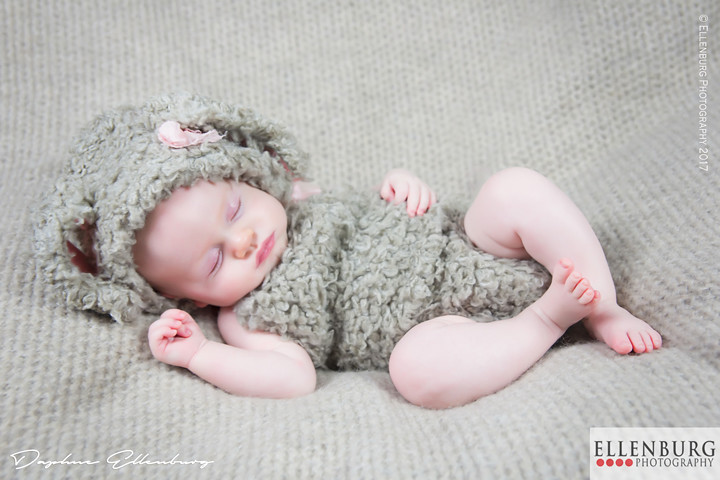 Baby Dressed as Bunny