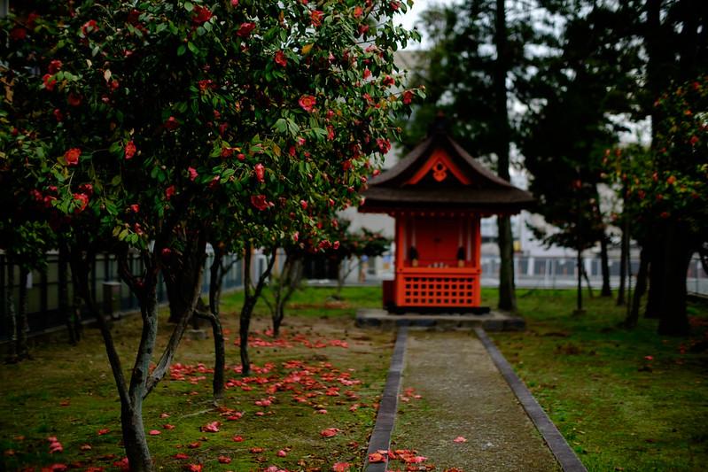Shakuraku Shrine ( 石落神社 )