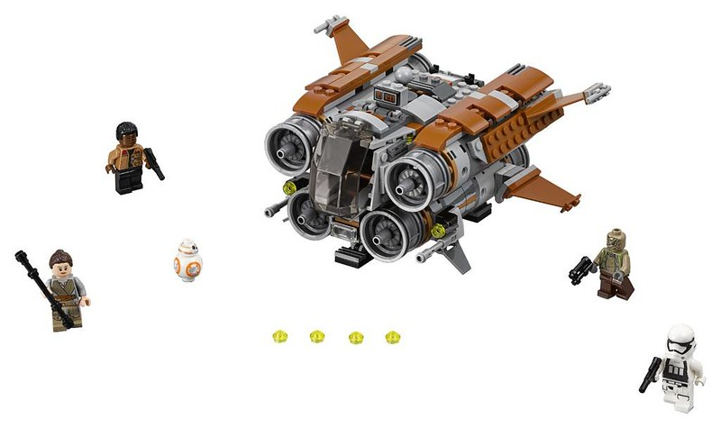 LEGO Star Wars Jakku Quadjumper (75178)