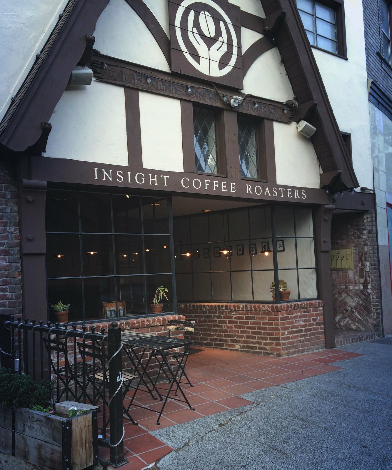 Insight Coffee Exterior
