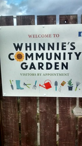 Whinnies Community Garden Mar 17