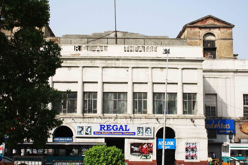 City Landmark - The Extinct Regal Cinema, Connaught Place