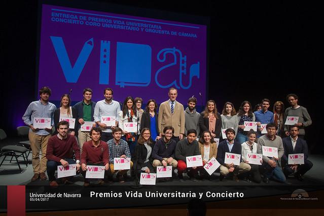 Premios Vida Universitaria y Concierto