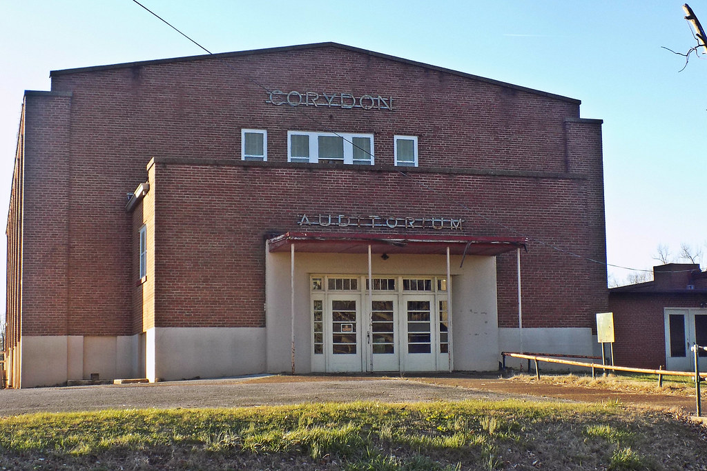 Old Corydon Elementary School -- Henderson Co, KY