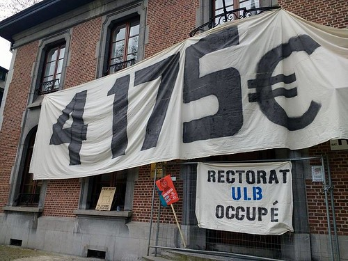 Occupation de l'ULB