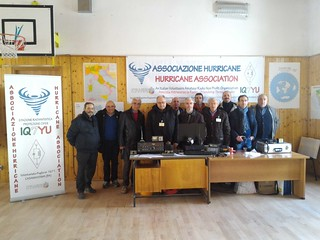 Lo staff dell'Associazione Hurricane di Casamassima