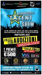 Locandina talent 2017 Prima audizione