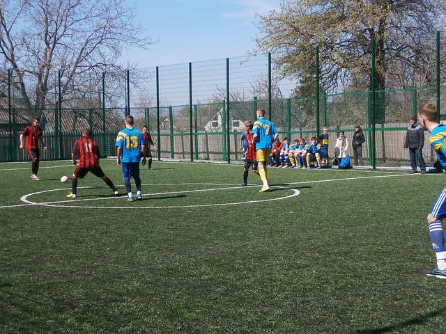 Районні змагання з футболу