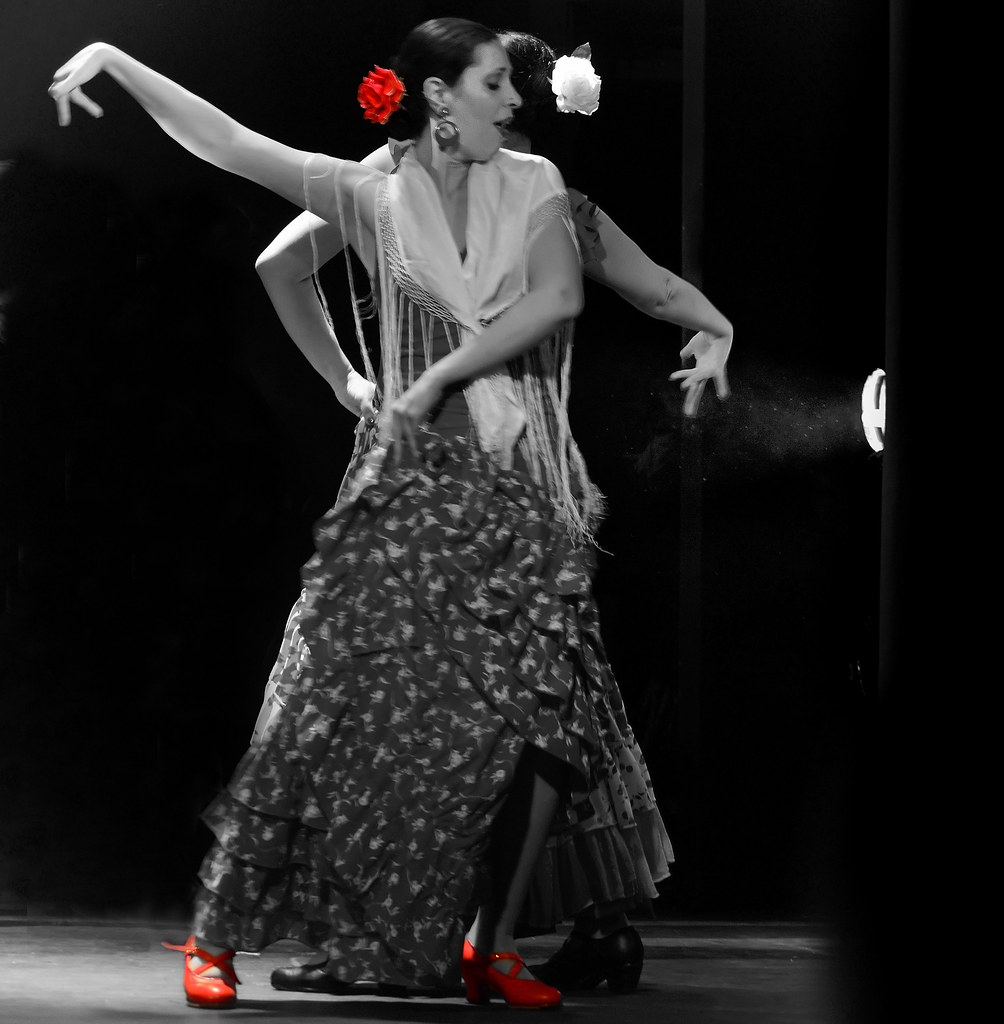 flamenco couple amira a flickr