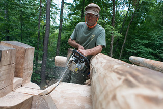 Peter Chainsawing Grindbygg Wall Plate Seat | by goingslowly